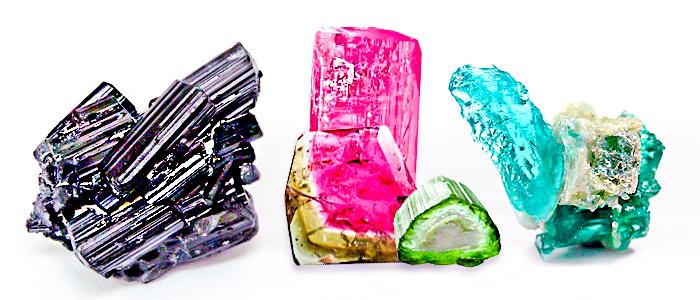 Природный минерал Турмалин. Fohow