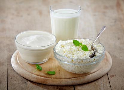 Молочные продукты для похудения.